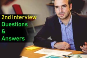 Second interview questions answers